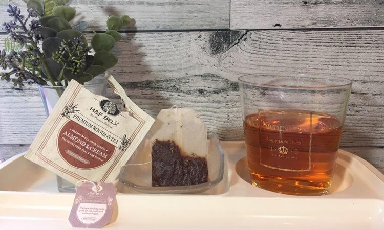 H&F BELX木村カエラさん愛用のプレミアムフレーバーティー・アーモンド&クリームの味の感想口コミレビュー