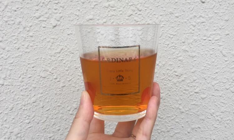 H&F BELXのプレミアムウエルネスティー・スリーピータイムの味の感想口コミレビュー。色味