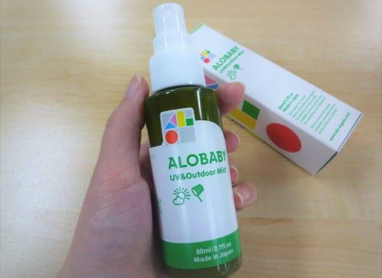 アロベビー UV&アウトドアミスト 日焼け止め 虫よけ 1本2役 時短 UVケア 使用感 感想 口コミ 画像